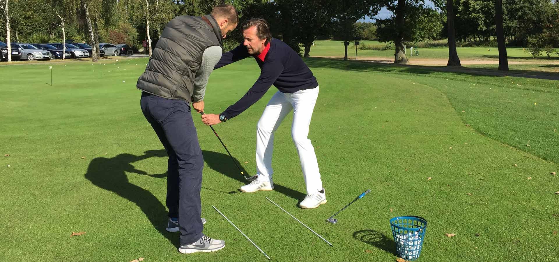 Golf Einzeltraining mit Olaf Strunck
