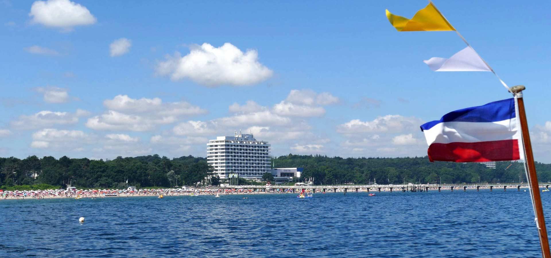 Maritim Seehotel - Aussenansicht von der Seeseite