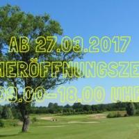 Ab 27.03.2017: Sommeröffnungszeiten Im Golfpark