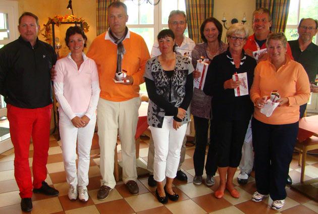 Sonnenaufgangsturnier 2012 Gewinner und Platzierte