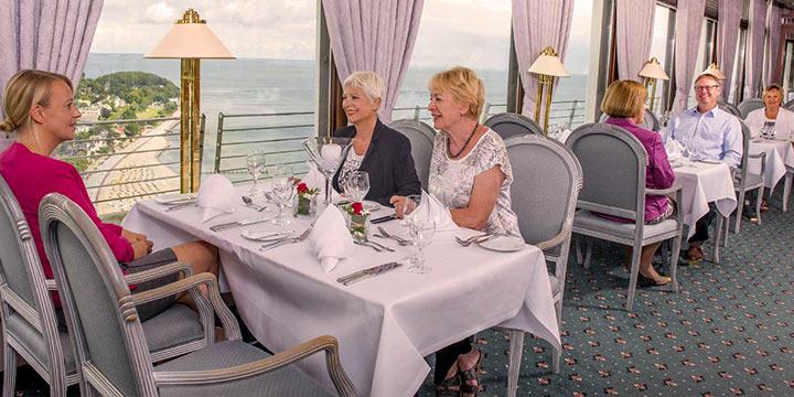 Maritim Strandhotel - Restaurant Über den Wolken