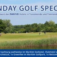 """Golfpaket """"Sunday Golf Special"""" – Ein Angebot Der Maritim Ostsee-Hotels Für Nur 115,- € P.P."""
