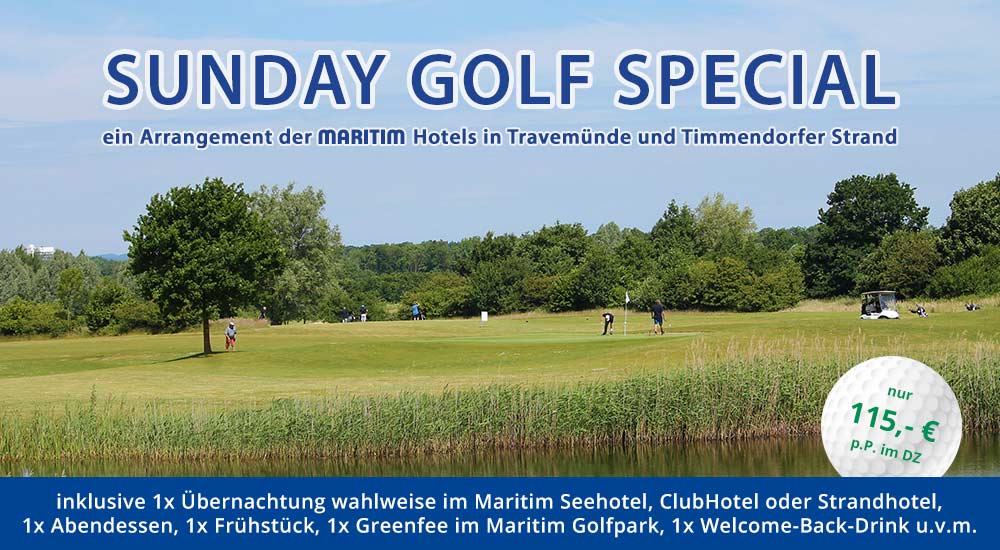 Sunday Golf Special - Golfarrangement