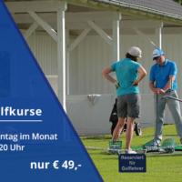 Banner Themen-Golfkurse - Pro Malte Mutke Mit Schülerin
